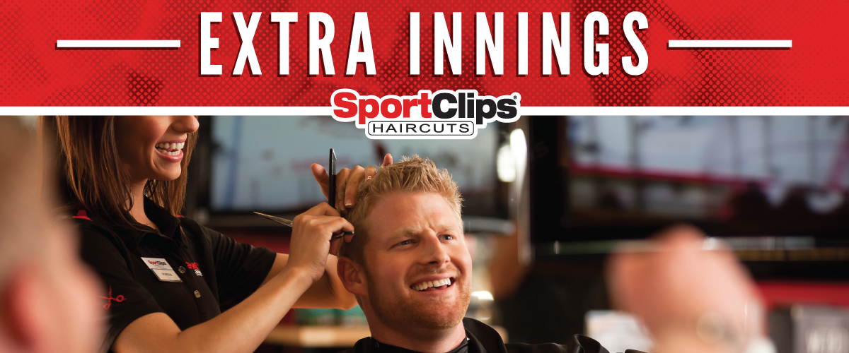 The Sport Clips Haircuts of Wall Township  Extra Innings Offerings