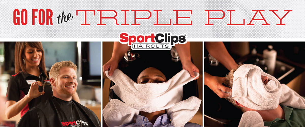 The Sport Clips Haircuts of Wall Township  Triple Play